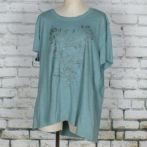 SONOMA t-shirt size 2X color green